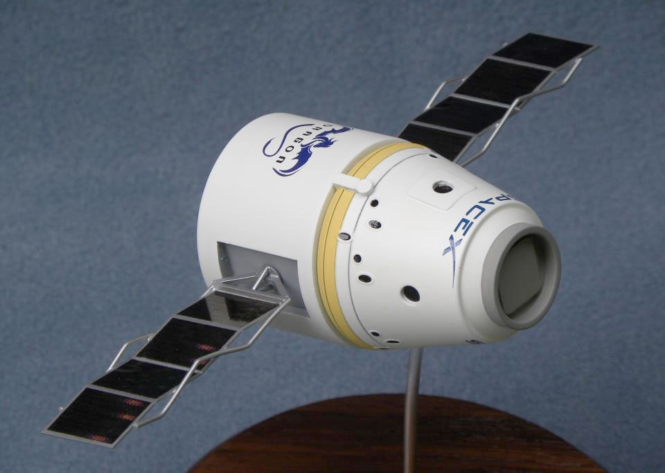 Land Your Own Dragon: New SpaceX Spacecraft Models Unveiled