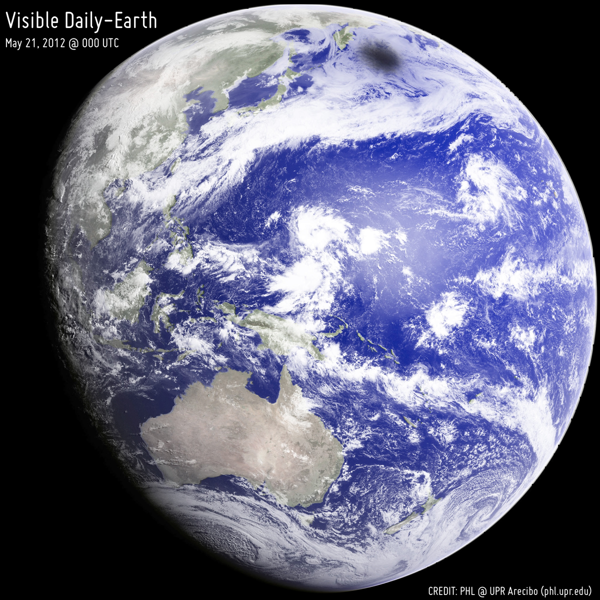 There's a Little Black Spot on the Earth Today