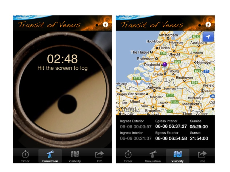 Transit of Venus 2012 App Enables Cosmic Calculations Next Week