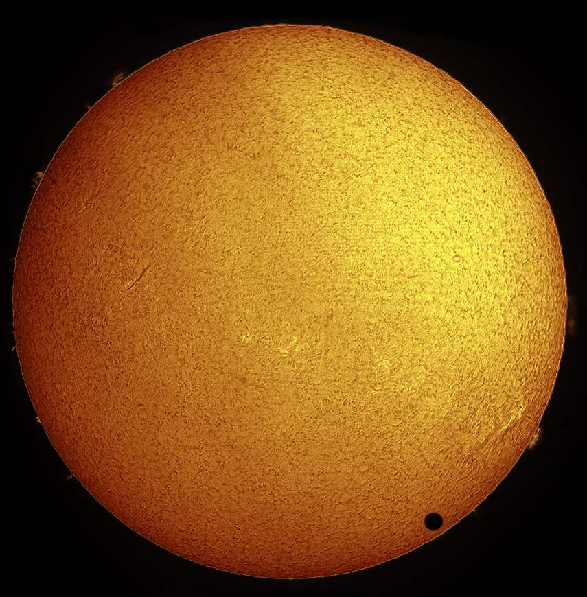 How to Photograph the Rare Transit of Venus Safely