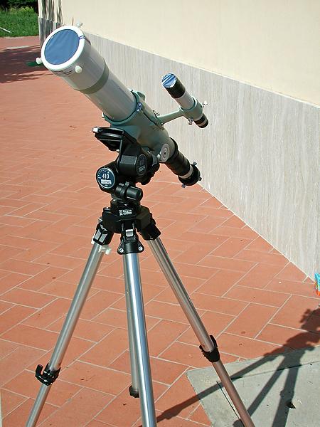 Portable Telescope on a Tripod