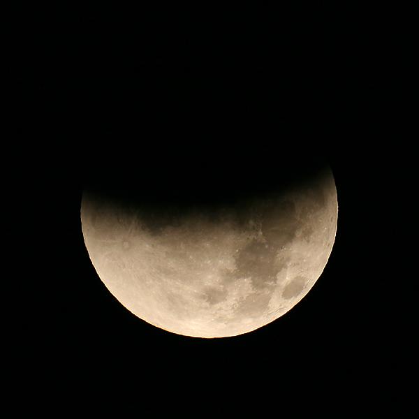 Partial Lunar Eclipse Photography