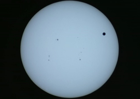 Venus Crossing the Sun