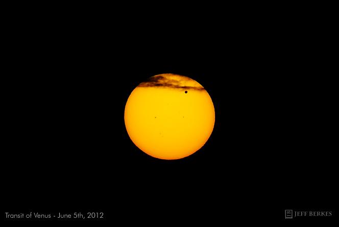 Venus Transit 2012: Jeff Berkes #2