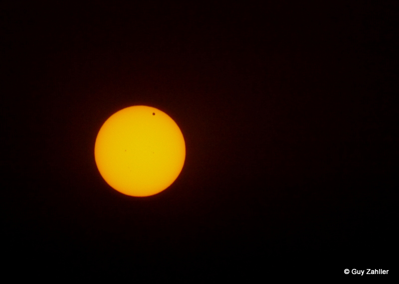 2012 Venus Transit Seen in Aptos, CA