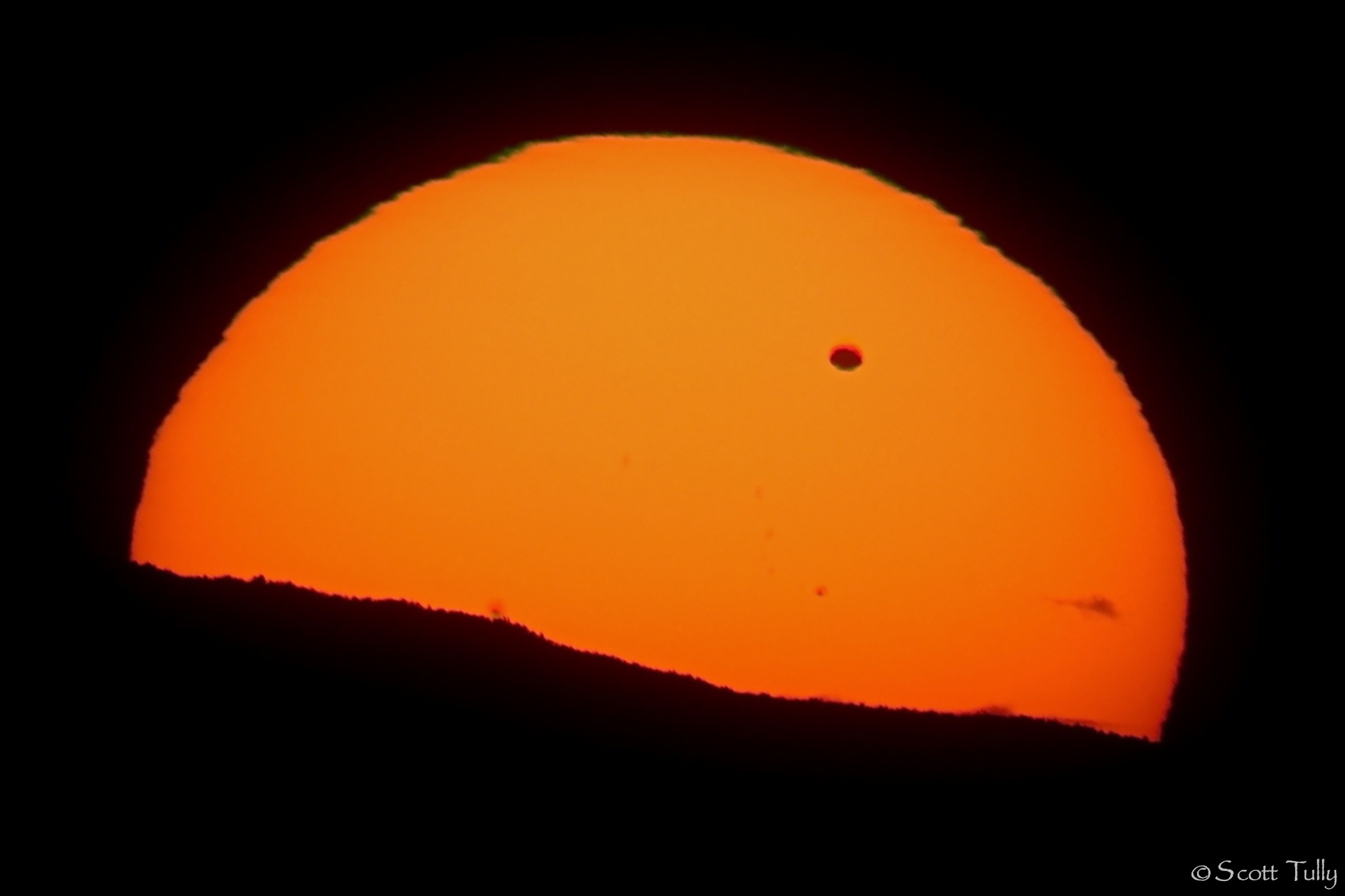Venus Transit at Mohawk Mountain