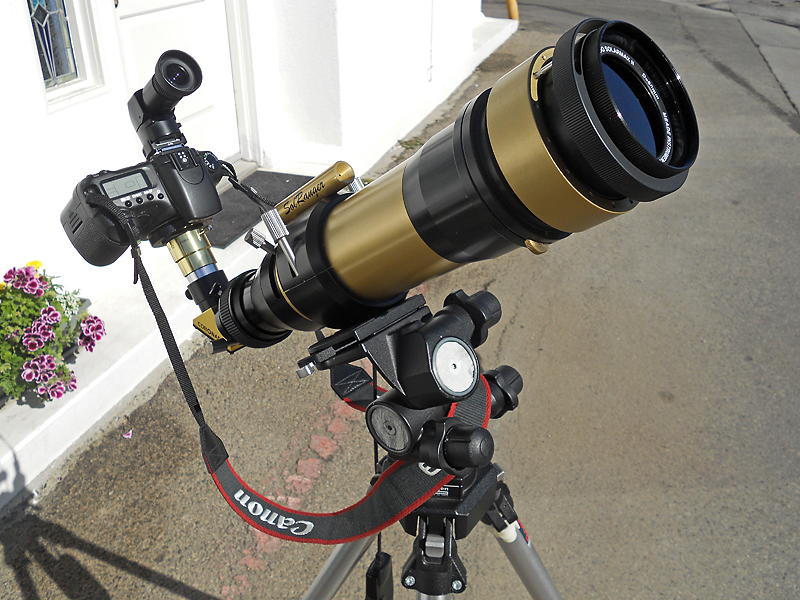Edwin's Hydrogen-Alpha Telescope