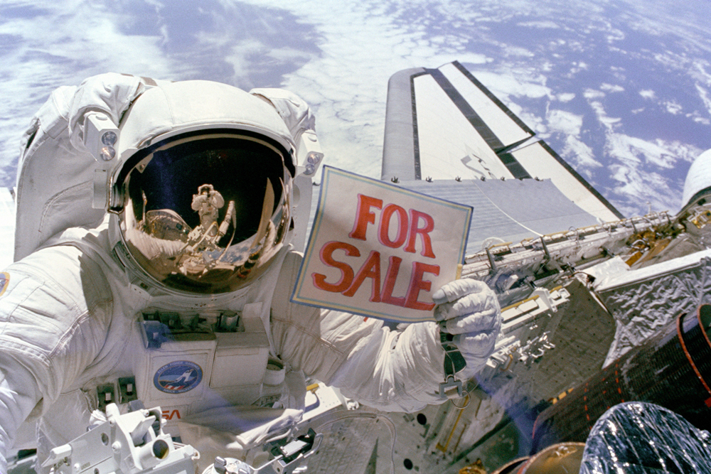 Space History Photos: Satellites For Sale