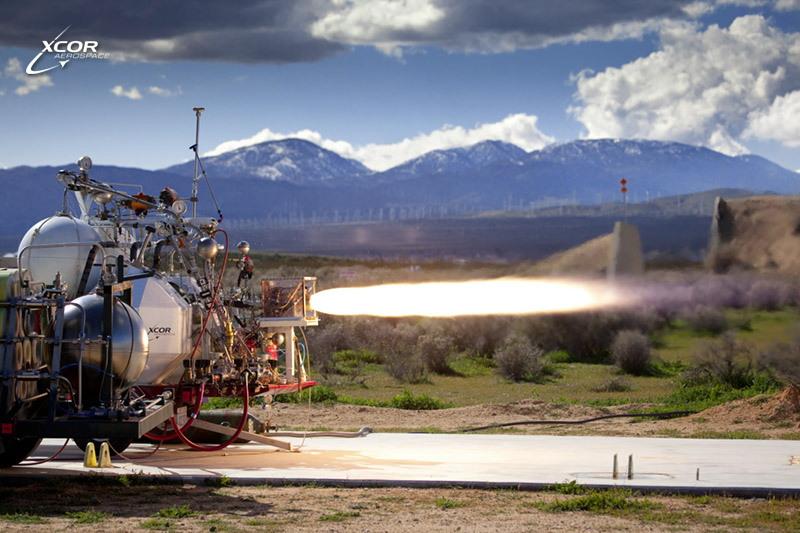 XCOR 5K18 Engine Testing