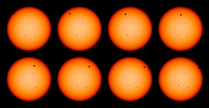 2012 Venus Transit Seen by Solar Dynamics Observatory