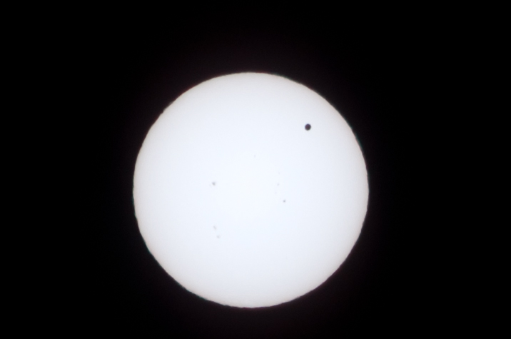 Sun and Venus transit