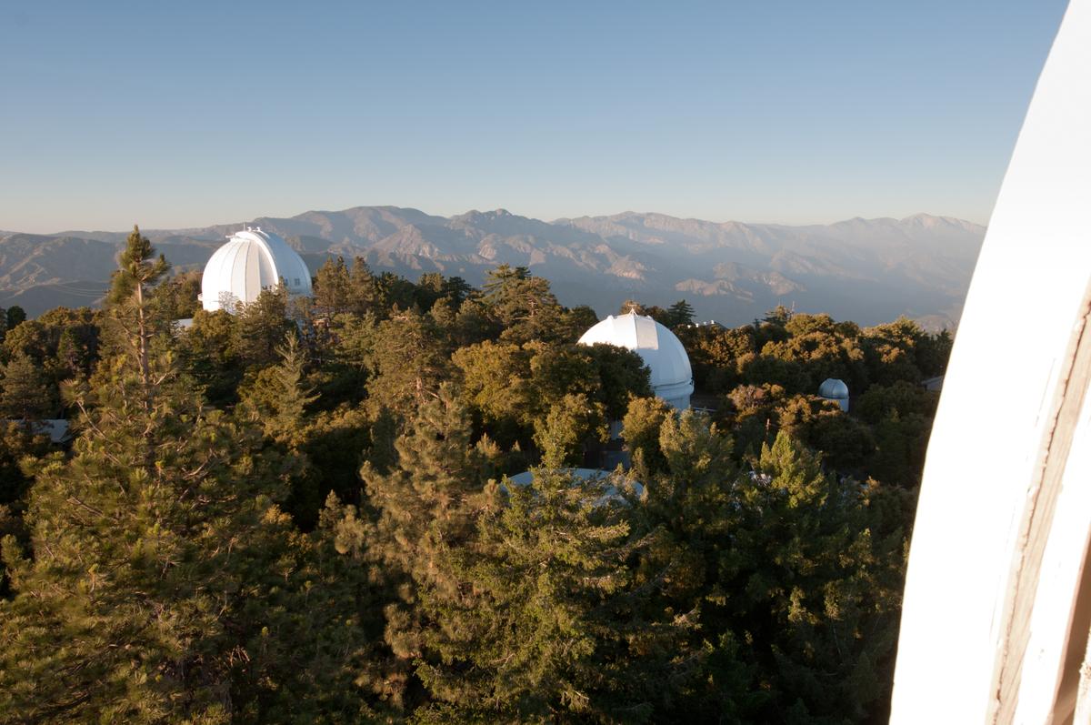 Mount Wilson Telescope Domes