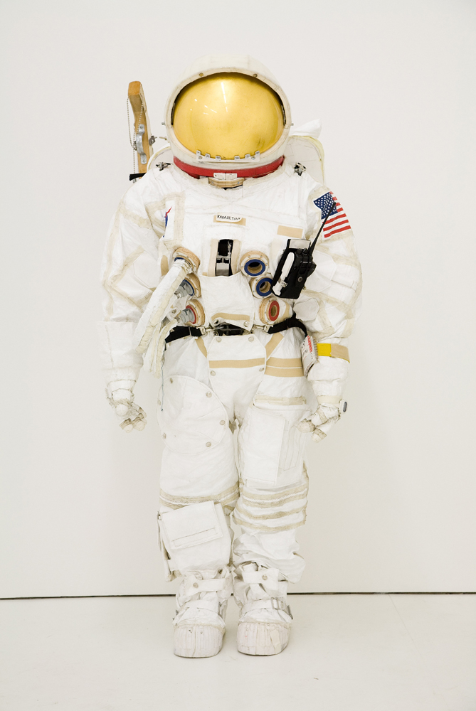 Extravehicular Mobility Unit in Tom Sachs'