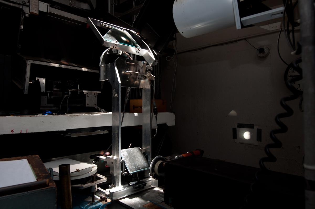 Ellerman Camera in the Observing Room