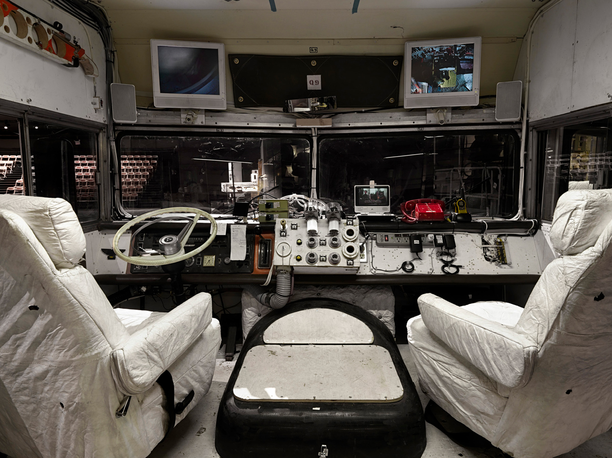 Mobile Quarantine Facility Interior in