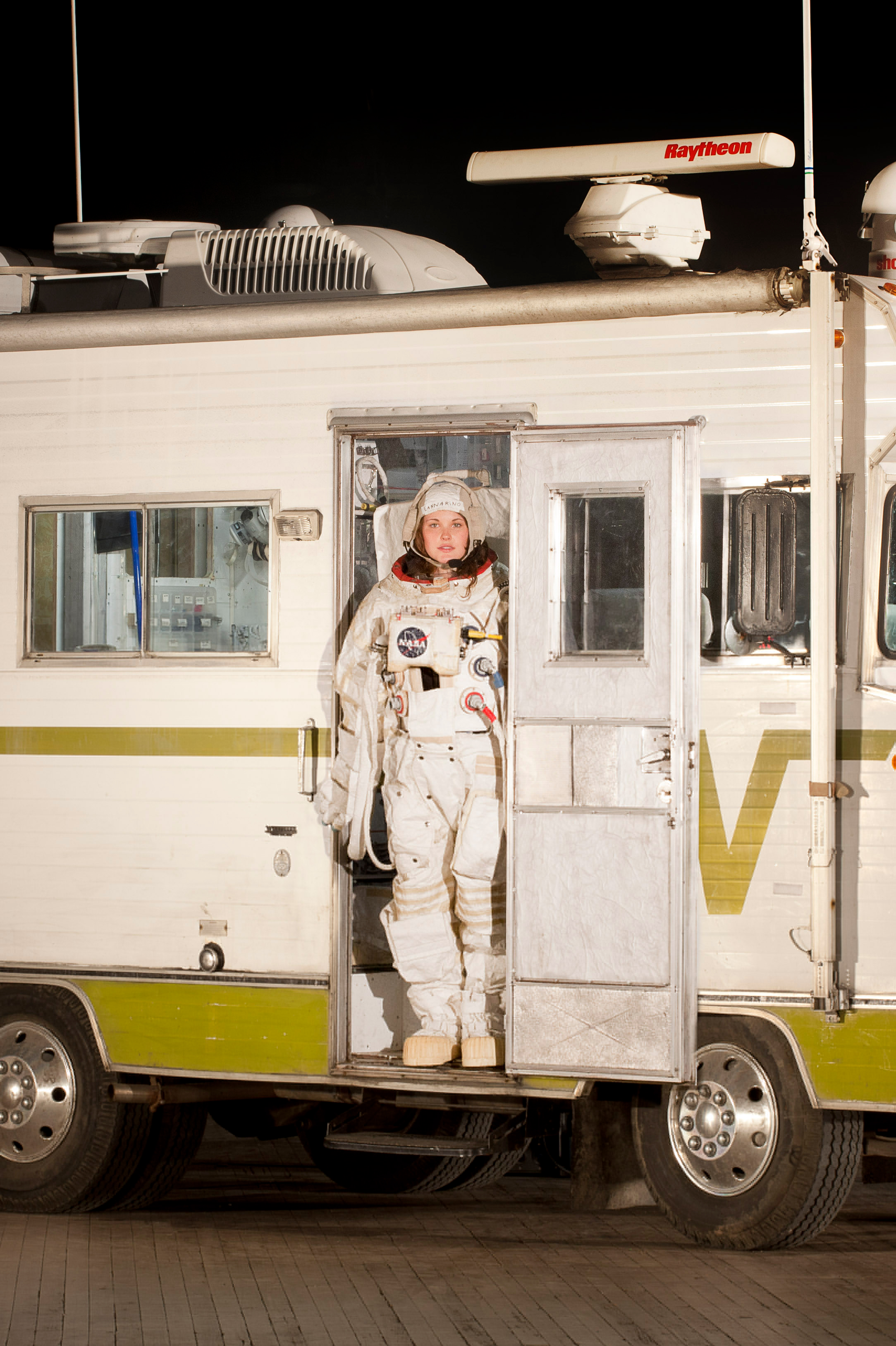 Mary Eannarino on the Mobile Quarantine Facility in