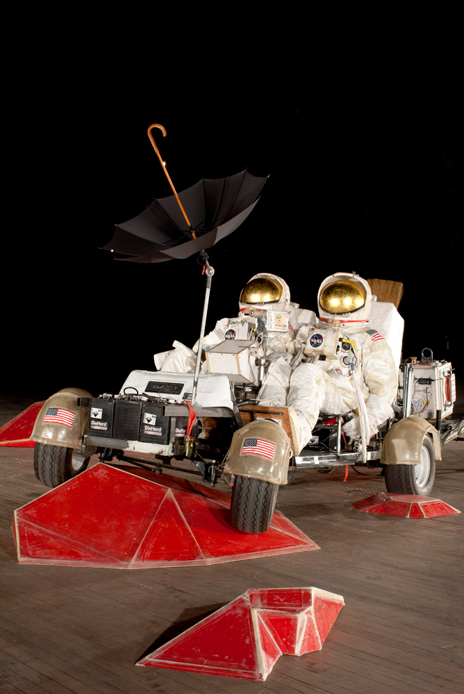 Artist Dreams Up Mock Mission to Mars With Duct Tape in NYC