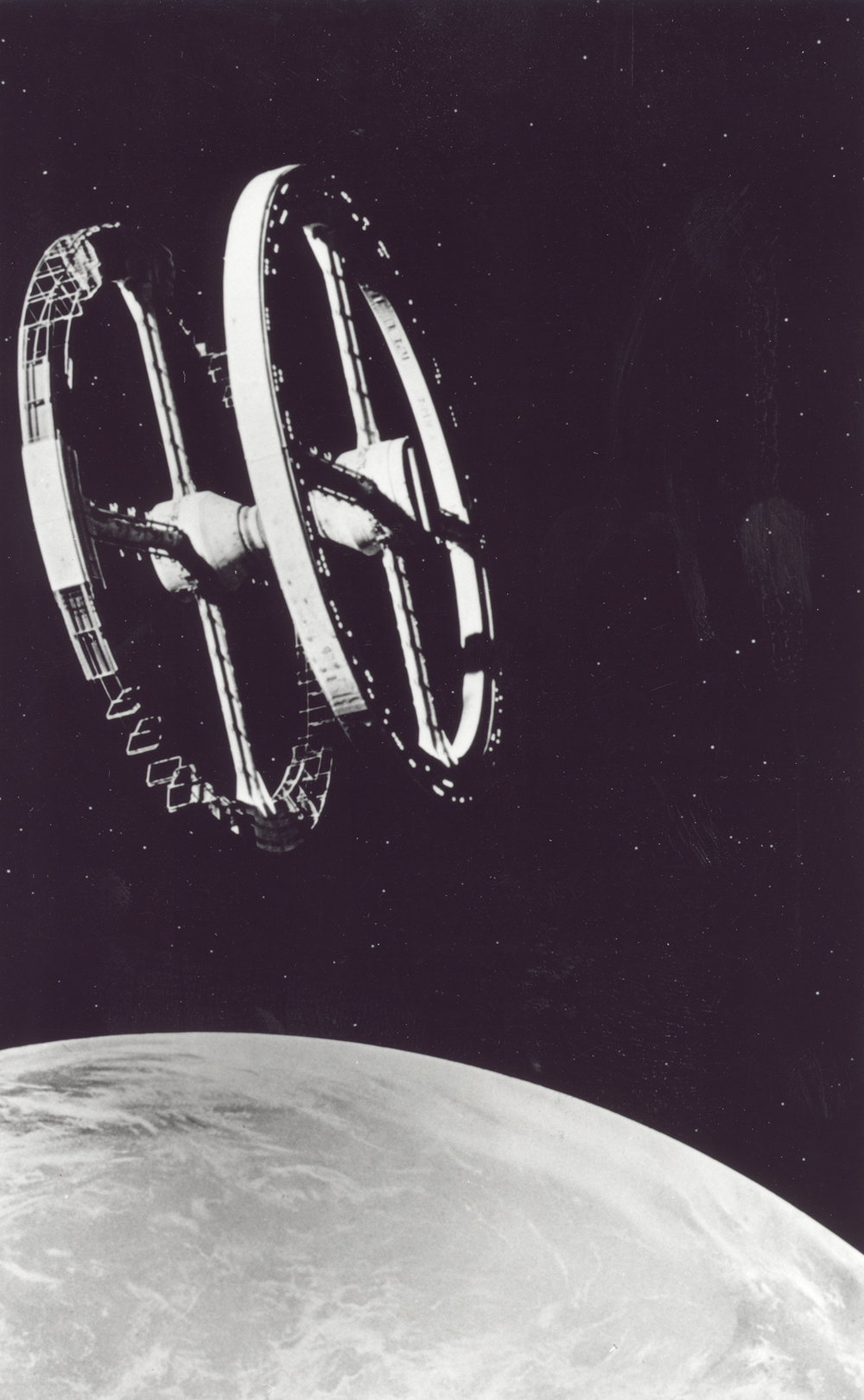 Space History Photo: 2001:A Space Odyssey Space Station