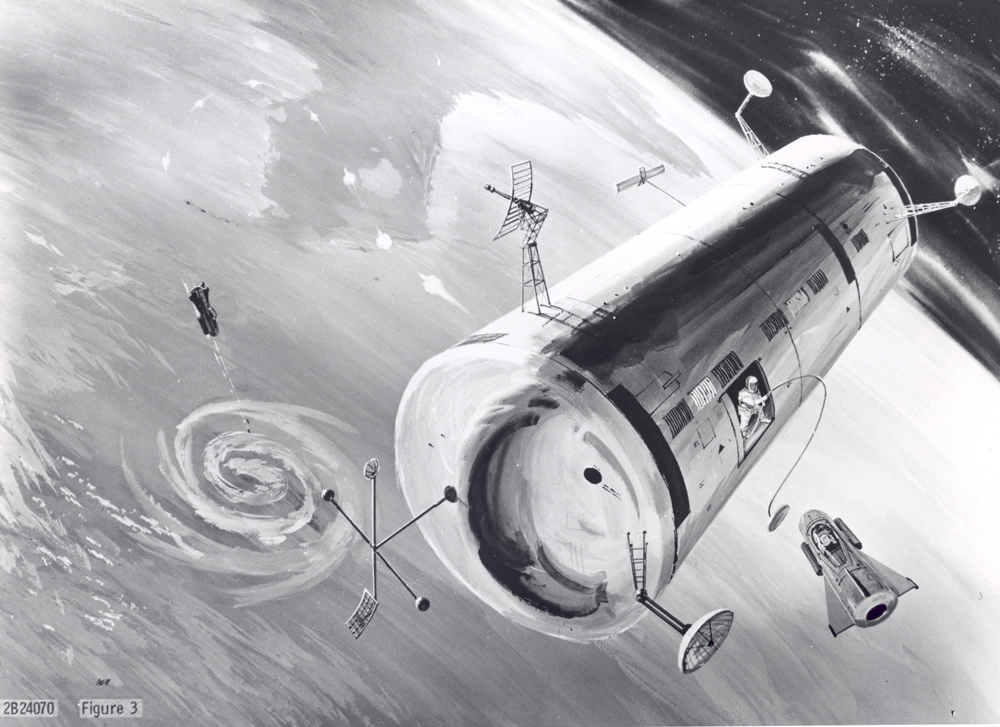 Space History Photo: Proposed USAF Manned Orbiting Laboratory