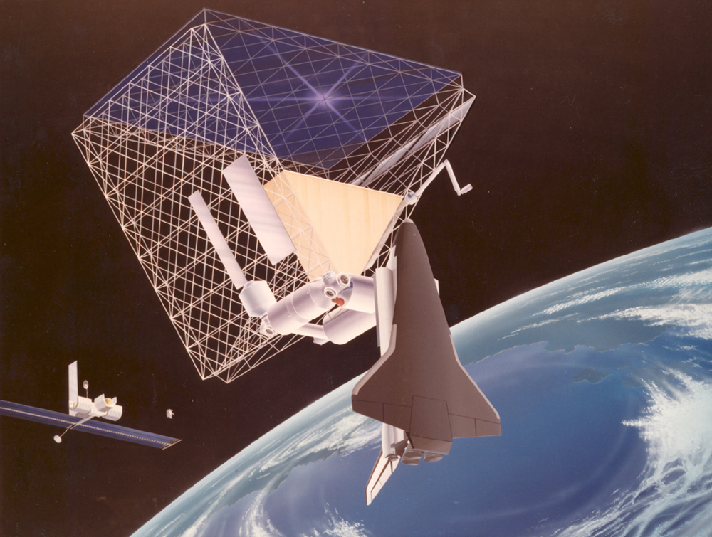 Space History Photo: Roof Space Station Concept