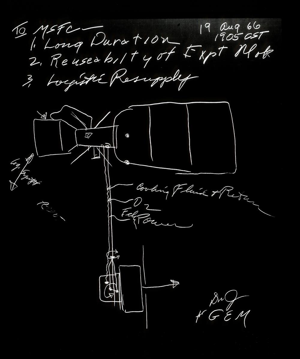 Skylab Concept by George Mueller