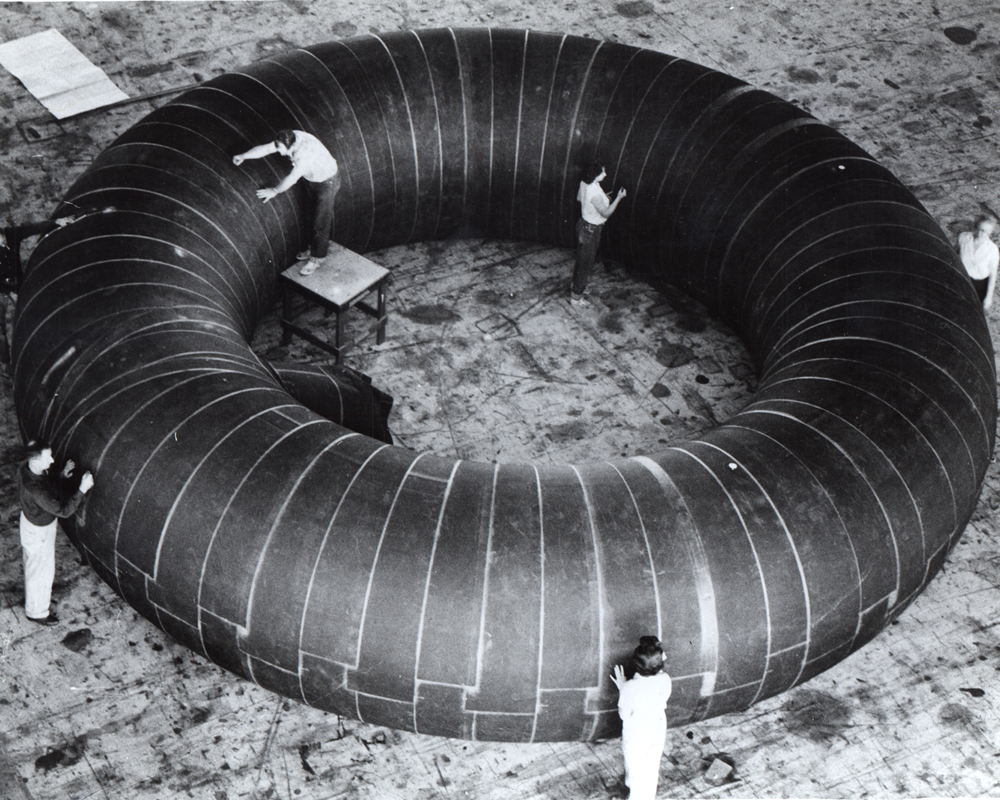 Space History Photo: Inflatable Station Concept