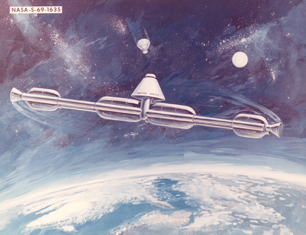 Space History Photo: Artificial Gravity Space Station