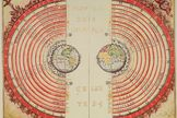 The Ptolemaic geocentric model of the universe, devised by the Greek scientist Claudius Ptolemy, had everything revolving around Earth.