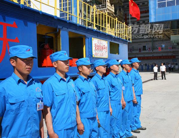 Shenzhou 9 Staff