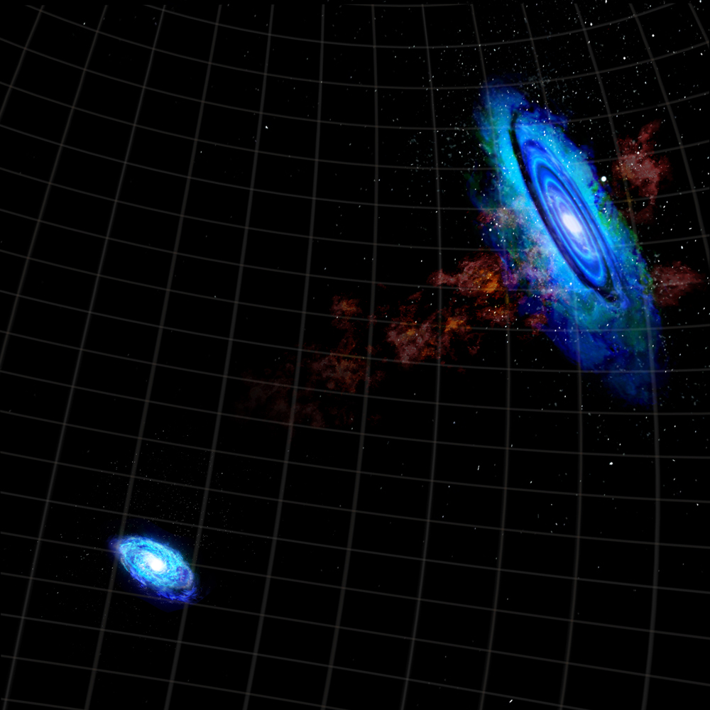 Galaxies Bridged by Gas
