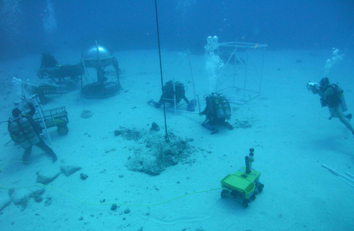 NASA Undersea 'Asteroid' Mission Passes Halfway Mark