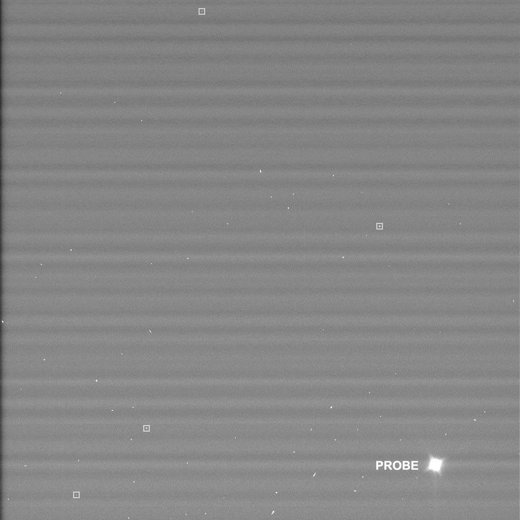 Next Stop, Titan: Huygens Lander Leaves Cassini