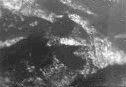 Huygens Falling to Titan