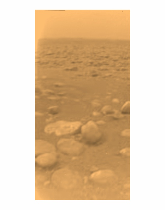 Titan in Color From Huygens Probe