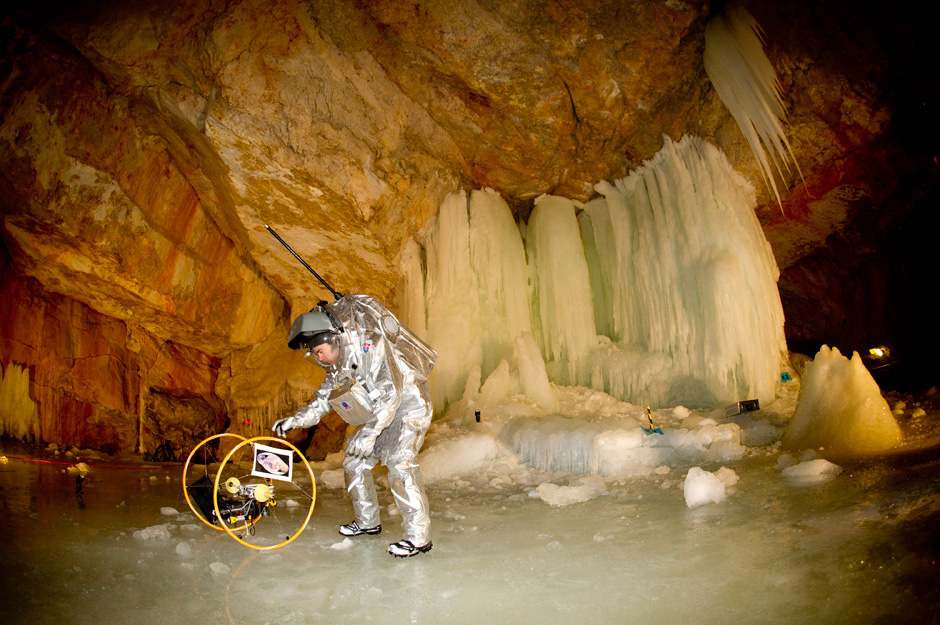 Mock Mission to Mars Takes Scientists to Austrian Ice Caves