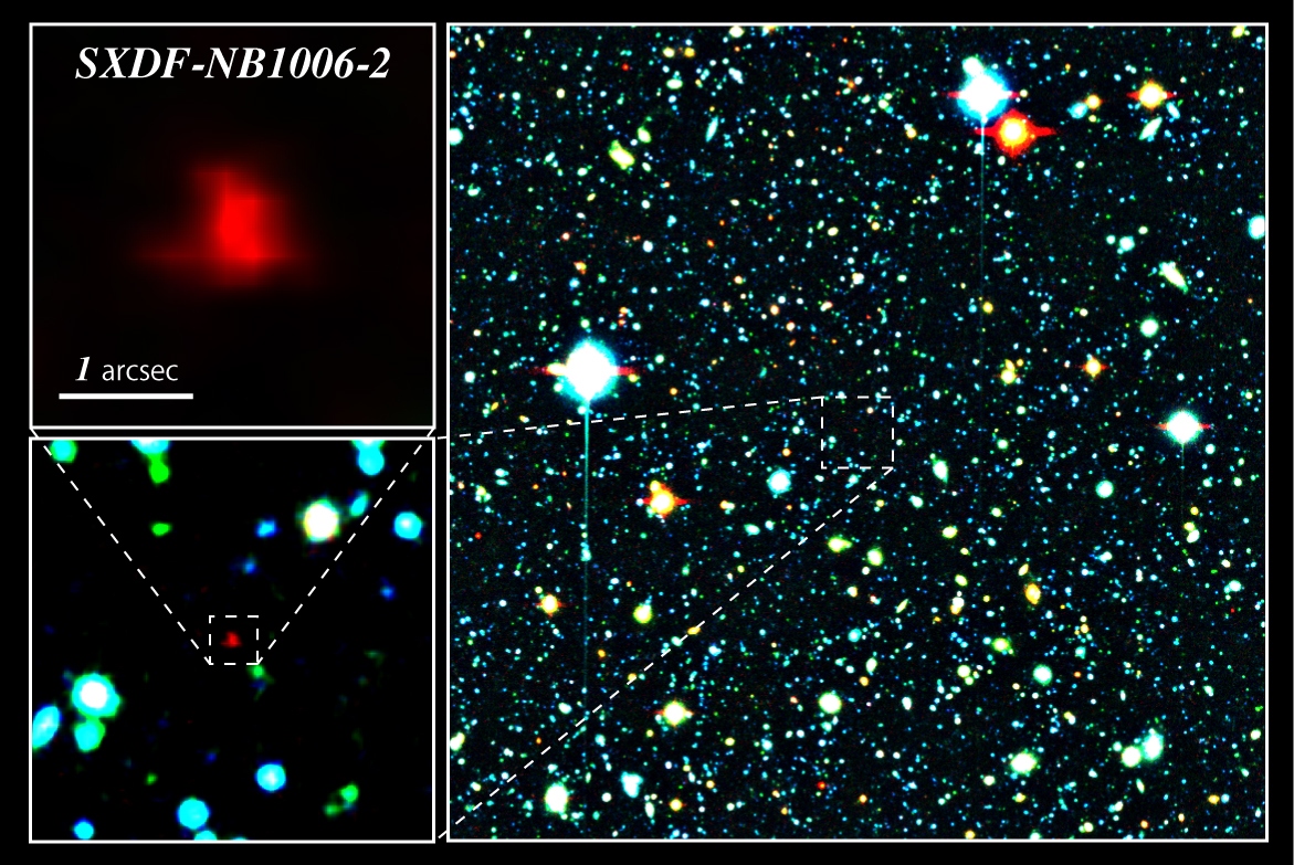 Most Distant Galaxy Known