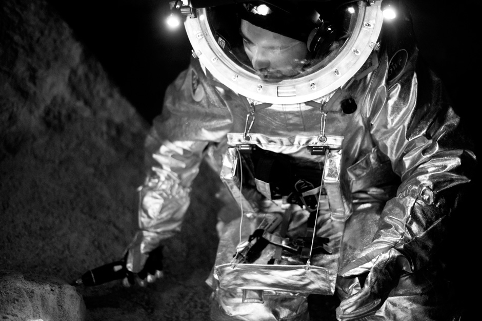 Working Inside a Spacesuit