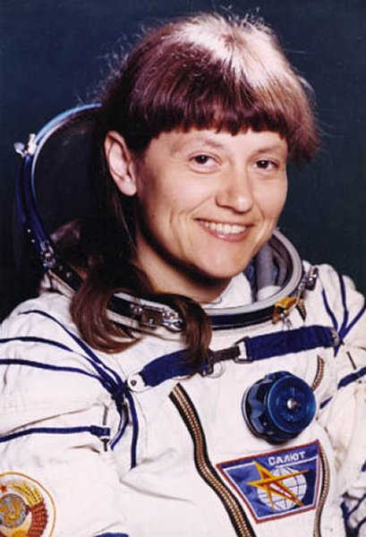 First Female Spacewalker