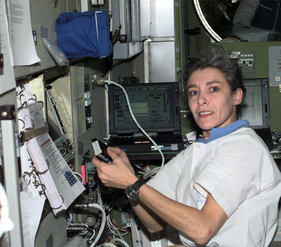 First French Woman in Space