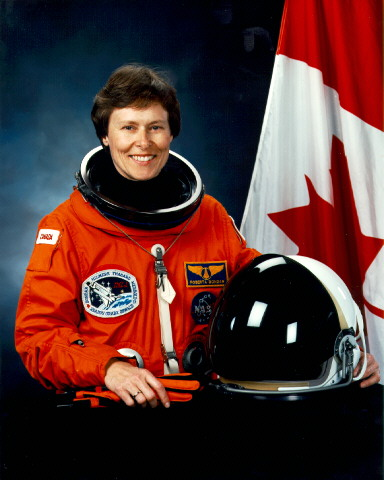First Canadian Woman in Space