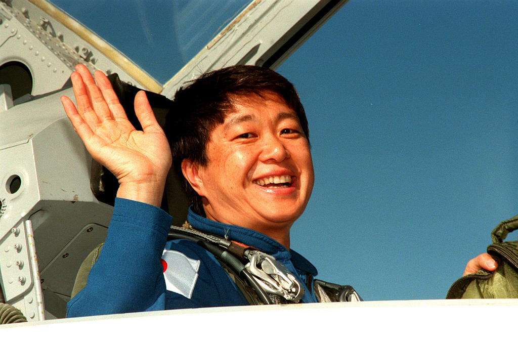First Japanese Woman in Space