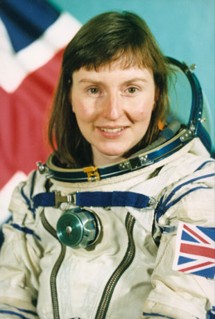 First Briton in Space