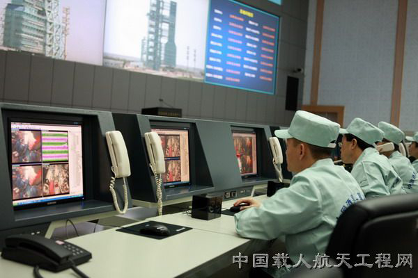 System-Wide Test at Jiuquan Satellite Launch Center