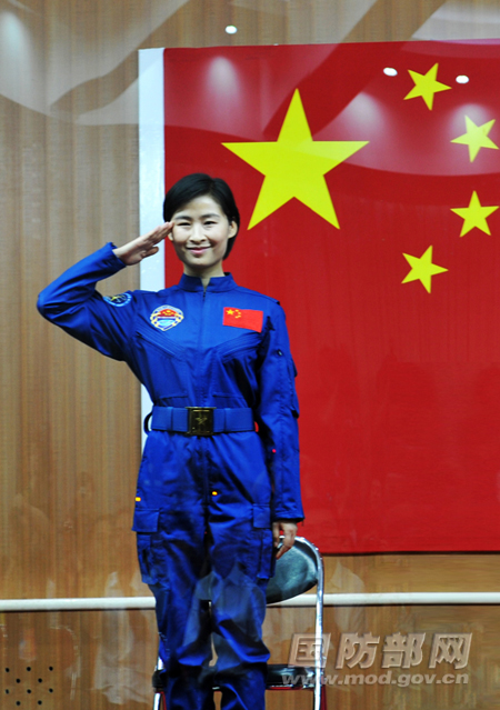 China's First Woman in Space: Q&A with Astronaut Liu Yang
