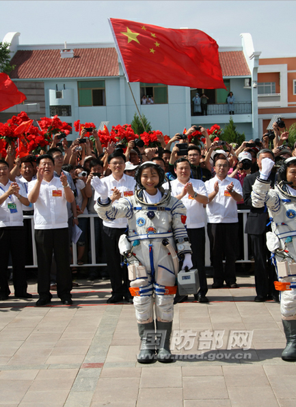 China's 1st Female Astronaut Ready
