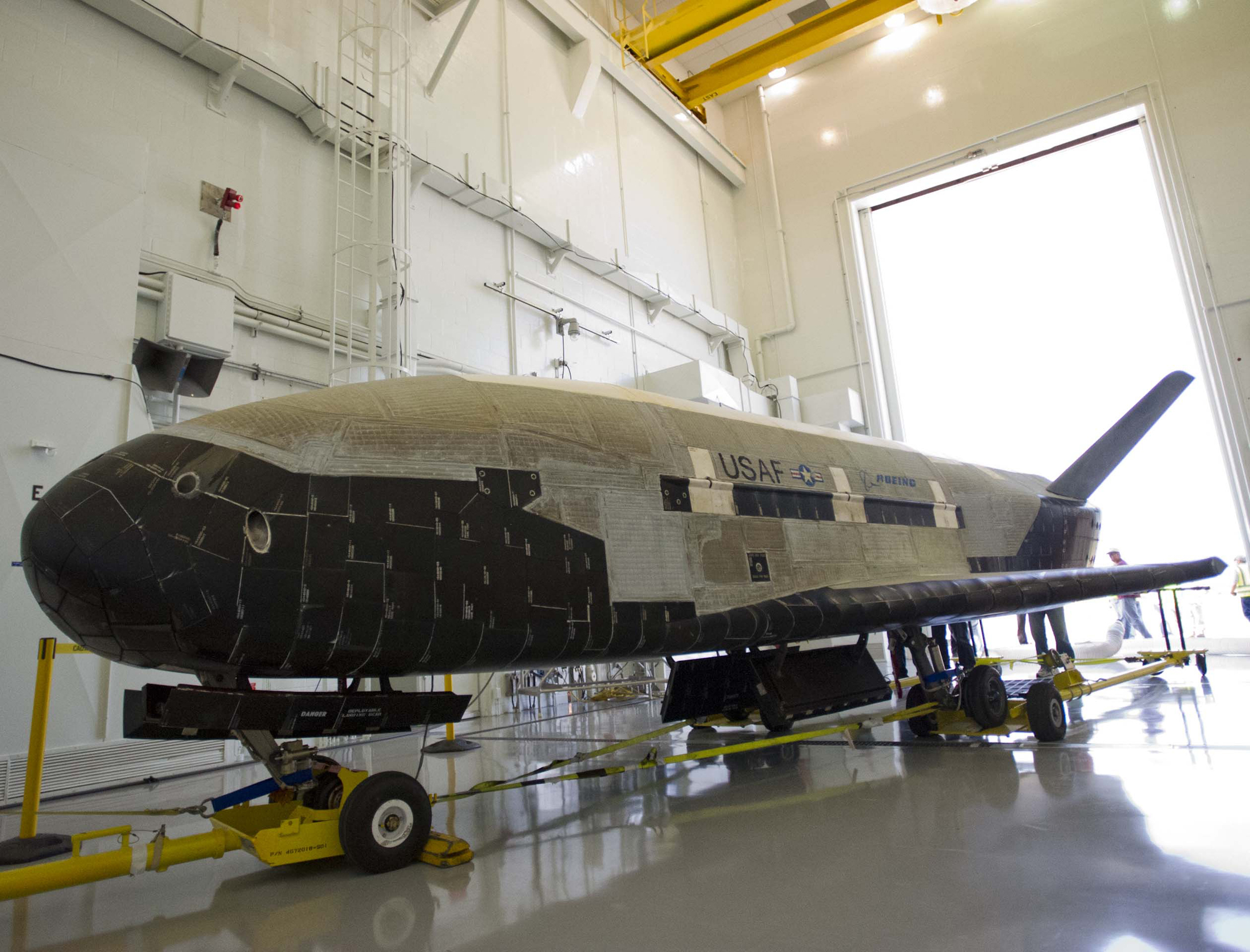 Air Force's X-37B Space Plane: OTV-2 Hangar