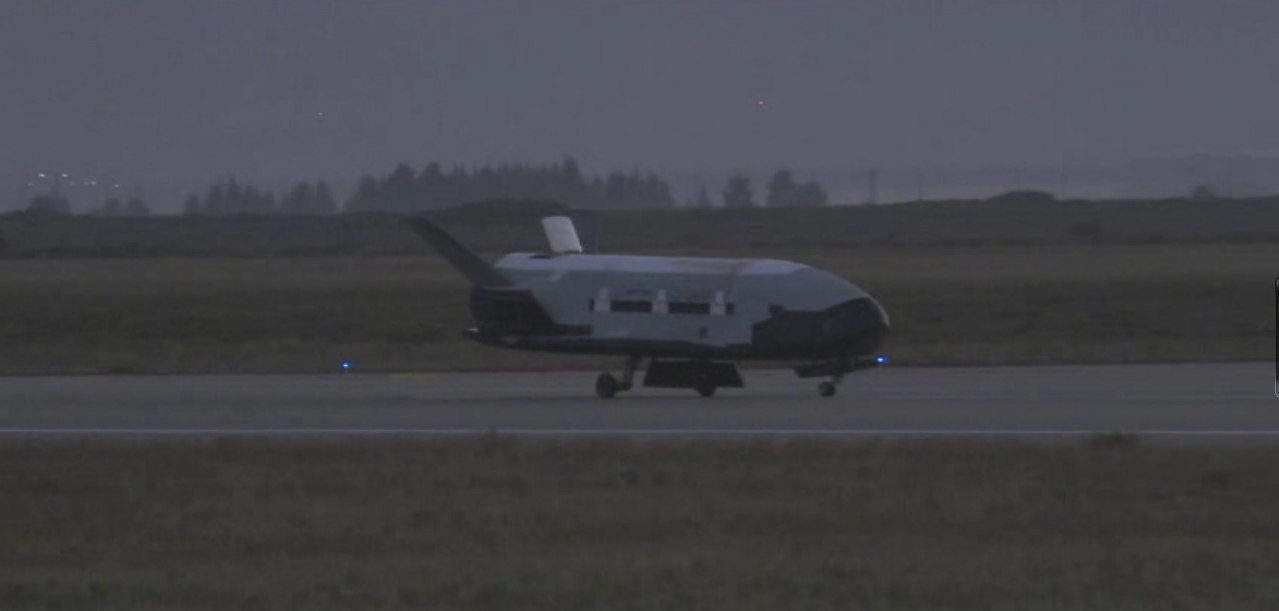 Air Force's X-37B Space Plane: OTV-2 Landing
