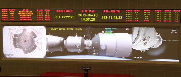 Shenzhou-9 Docking with Tiangong 1