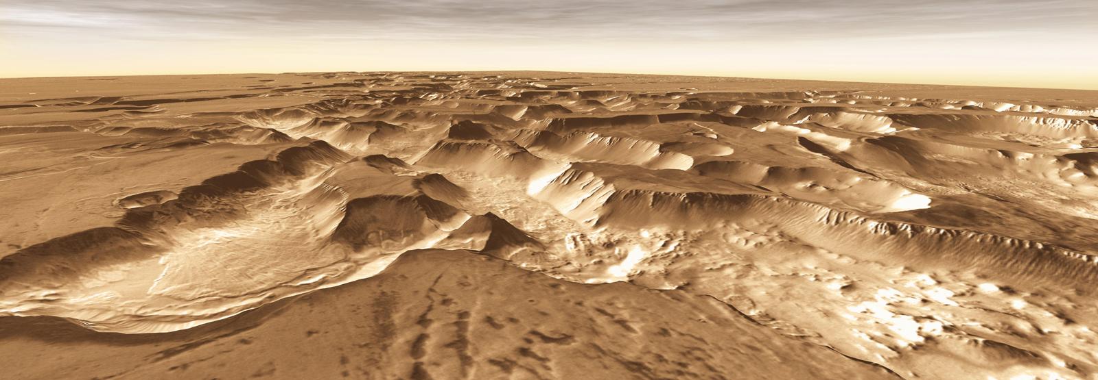 Mars Odyssey: Noctis Vista