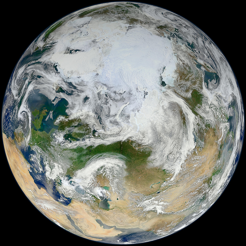 Blue Marble Earth Makeover